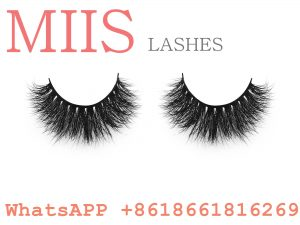 mink clear lashes